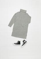 Superbalist - Cut n sew dress - grey melange