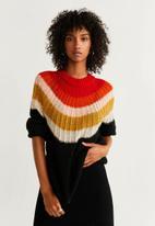MANGO - Colour block jersey - multi