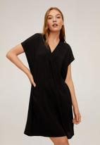 MANGO - Dress balmes - black