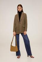 MANGO - Jacket prado - green