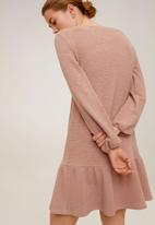 MANGO - Dress nuvol - pink