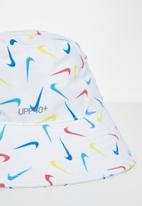 Nike - Nan upf 40+ reflect bucket hat - white