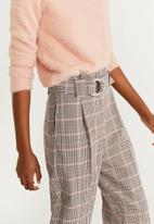MANGO - Cropped trousers - multi
