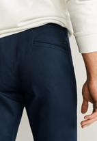 MANGO - Borne trousers  - navy