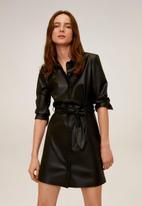 MANGO - Dress natasha - black