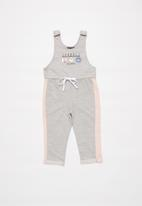 POP CANDY - Girls jumpsuit - grey & pink