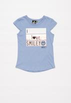 POP CANDY - Girls fashion tee - blue