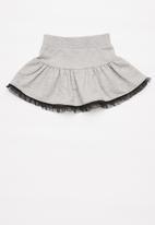 POP CANDY - Girls fleece skirt - grey