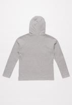 POLO - Girls Roxanne hooded sweater - grey