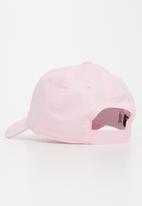 Converse - Can chuck patch curve brim hat - pink