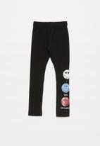 POP CANDY - Girls printed leggings - black