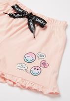 Rebel Republic - Girls fashion pj set - pink