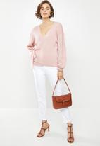 Glamorous - Wrap knit - pink