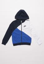 Nike - Nkb nsw amplify fz- blue & white