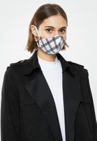 Superbalist - Monochromatic mask 2 pack -  black & white