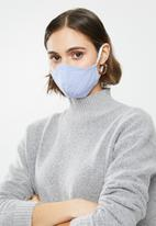 Superbalist - Ditsy floral and stripe mask 2 pack - blue