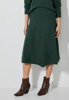 Superbalist - Lofty a-line skirt - green