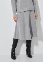 Superbalist - Lofty a-line skirt - grey