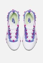 Nike - React Element 55 - white / fire pink-sapphire-barely volt