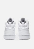 Nike - Court Borough mid 2 - white