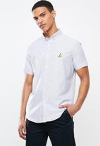 Brave Soul - Meyer short sleeve shirt - grey
