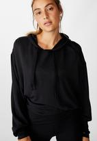 Cotton On - Relaxed hoodie - black