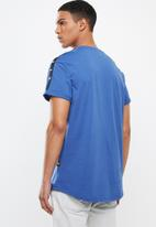 G-Star RAW - Lash tape tee - blue