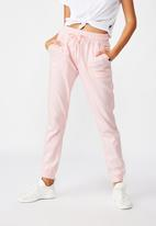 Cotton On - Gym track pants - pink sherbet