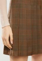 Blake - Check wrap skirt - multi