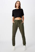 Cotton On - Gym track pants - khaki