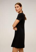 MANGO - Dress pont - black