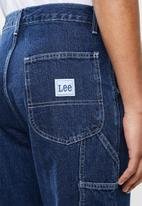 Lee  - Boss of the road straight leg jeans - blue