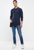 Lee  - Luke slim fit stretch jeans - blue