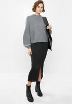 Glamorous - High neck jumper - grey