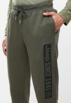 JEEP - Statement jogger - khaki green