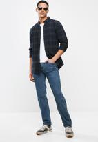 JEEP - Basic straight leg jeans - blue