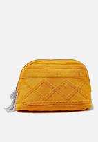 Cotton On - Rubi Amelia cosmetic case - yellow