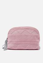 Cotton On - Rubi Amelia cosmetic case - pink