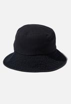 Rubi - Bianca bucket hat - black