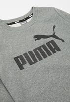 PUMA - Essential logo crew sweat - medium grey