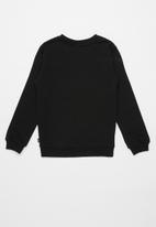 PUMA - Essential logo crew sweat cotton - black