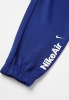 Nike - Nike air track top & jogger set - blue & white
