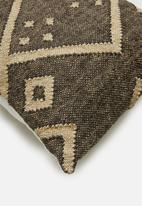 Sixth Floor - Oka cushion cover - brown