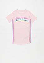 Converse - Converse lurex jersey dress - pink