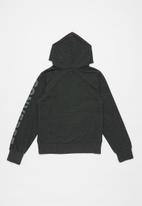 Converse - Overdye htr cp hoodie - grey