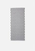 Sixth Floor - Grayson woven runner - grey