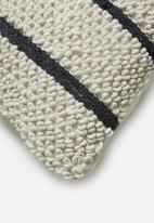 Sixth Floor - Bisti cushion cover - black & white