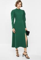 VELVET - Woven midi dress - green