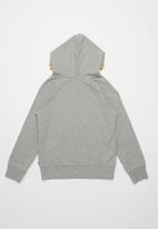 Levi's® - Levi's boys varsity logo double pullover hoodie - grey