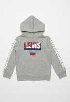 Levi's® - Levis moto split pullover - grey